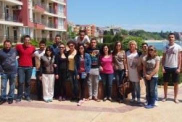 Езиково обучение по български език за англоговорящи студенти Равда 2018