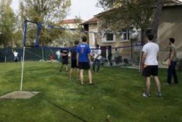 Официално откриване на външните спортни площадки на ДЕОС